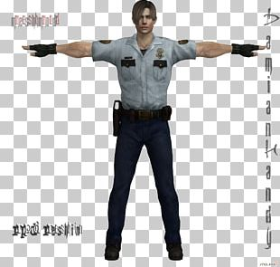Leon S. Kennedy Police Officer Raccoon City Patrol PNG