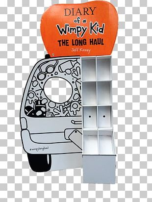 Point Of Sale Display Diary Of A Wimpy Kid: Old School PNG