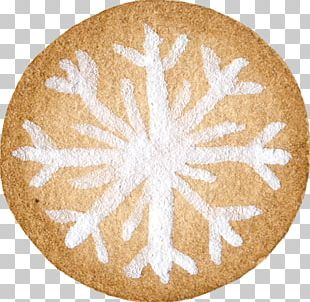Brown Snowflake Icon PNG