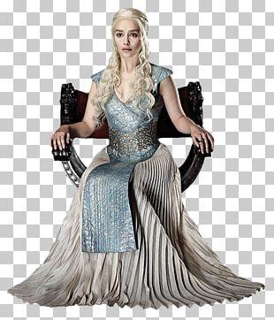 Daenerys Targaryen Cosplay Costume Cersei Lannister Dress PNG