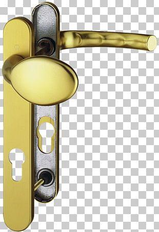 Door Handle 01504 Brass Lock PNG