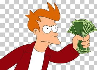 Money Philip J. Fry Payment Bank Credit PNG