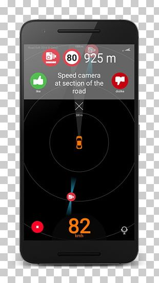 Smartphone Traffic Enforcement Camera Android Feature Phone PNG