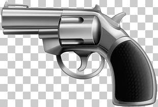 Revolver Trigger Gun Barrel Air Gun Firearm PNG