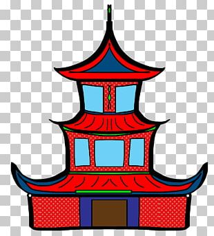 China Chinese New Year Pagoda PNG