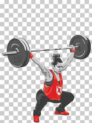 Barbell Weight Training Crossfit Keistad Olympic Weightlifting Snatch PNG