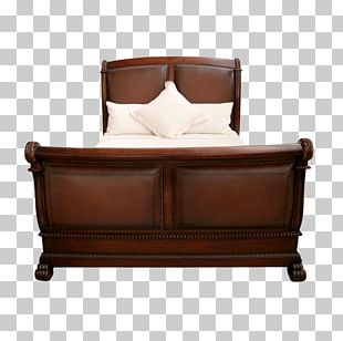 Bed Frame Couch Sleigh Bed Furniture PNG