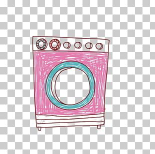 Washing Machine Clothes Dryer Illustration PNG