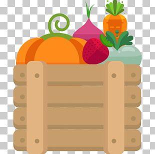 Vegetable Fruit Basket PNG