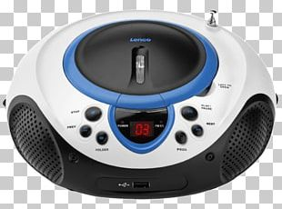 CD Player Lenco SCD-38 USB Compact Disc Radio MP3 Player PNG