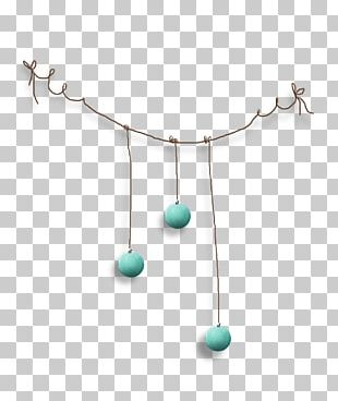 Turquoise Necklace Product Design Jewellery PNG