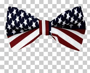 American Flag Bow Tie PNG