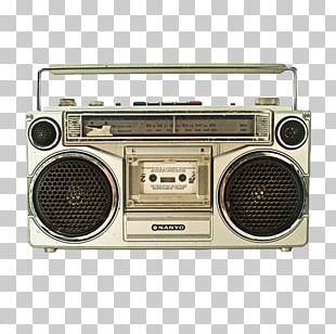 Boombox Compact Cassette VCR/DVD Combo PNG