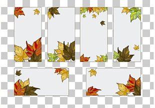 Maple Leaf Autumn Graphic Design PNG