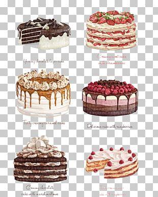 Chocolate Cake Strawberry Cake Torte Angel Food Cake PNG