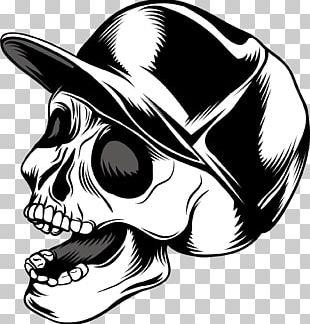 Skull Calavera Euclidean PNG