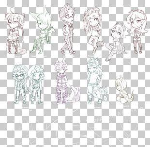 Homo Sapiens Line Art Sketch PNG