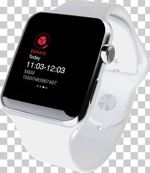 Mockup Apple Watch Graphic Design PNG