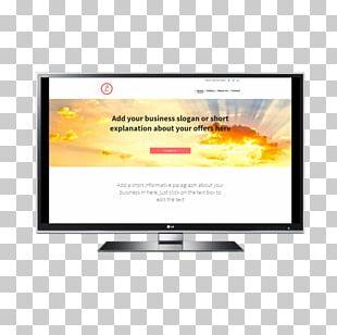 LED-backlit LCD Computer Monitors LCD Television Liquid-crystal Display Multimedia PNG