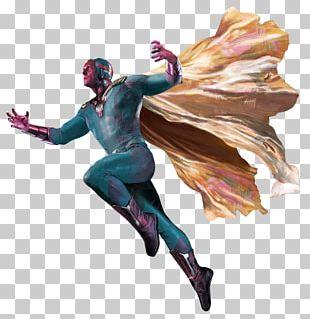 Vision Iron Man Captain America Falcon Wanda Maximoff PNG