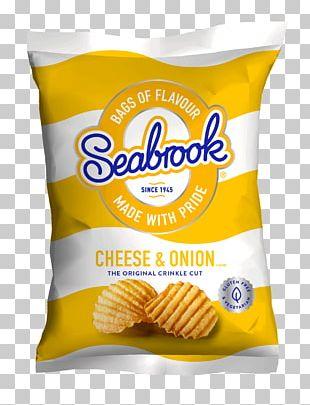 Cheese And Onion Pie Vegetarian Cuisine Seabrook Potato Crisps Potato Chip PNG