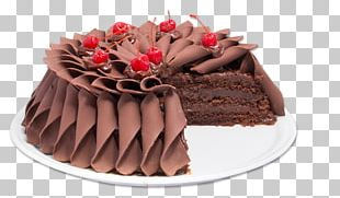 Black Forest Gateau Chocolate Cake Birthday Cake Frosting & Icing Torte PNG
