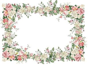 Borders And Frames Flower Frames PNG