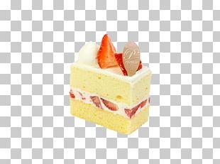 Petit Four Bavarian Cream Dessert Strawberry PNG