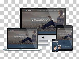 Responsive Web Design Website Development Web Template System WordPress Joomla PNG