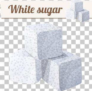 Sugar Cubes Sucrose Illustration PNG