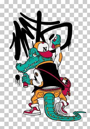 Crocodile Graffiti PNG