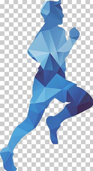 Euclidean Running Silhouette PNG