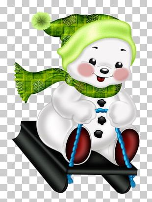 Snowman Christmas Drawing PNG