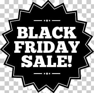 Black Friday Advertising Icon PNG