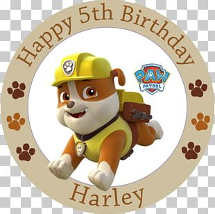 Dog PAW Patrol Air And Sea Adventures Birthday Cake Everest Chase PNG
