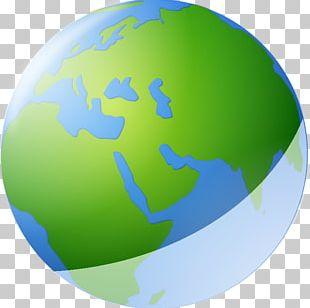 Globe Map World Icon PNG