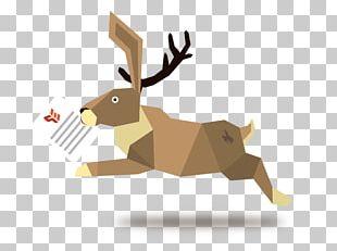 Reindeer Antler Product Design Cartoon PNG