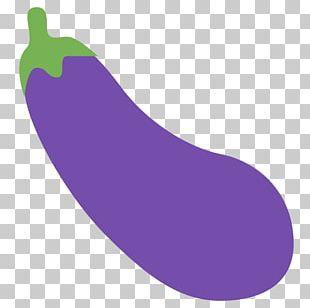 Eggplant Emoji Vegetable 2017 WordCamp US Mastodon PNG