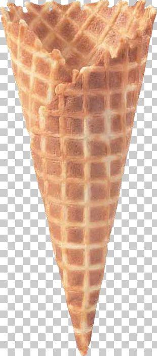 Ice Cream Cones Waffle Kulfi PNG