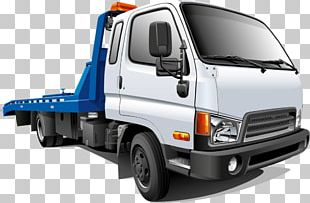 Car Tow Truck Towing Vehicle Recovery Breakdown PNG