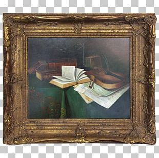 Still Life Frames Oil Painting Work Of Art PNG