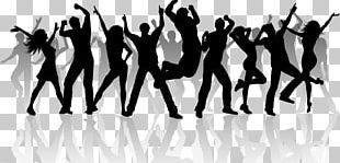 Group Dance Silhouette PNG