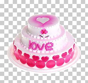Icing Chiffon Cake Birthday Cake Cream Muffin PNG
