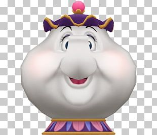Mrs. Potts Kingdom Hearts II PlayStation 2 Cogsworth PNG