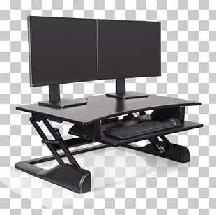 Sit-stand Desk Standing Desk Table PNG