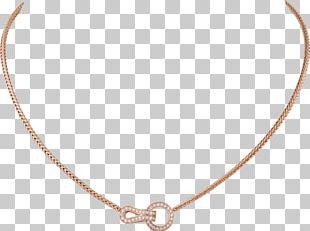 Necklace Diamond Carat Brilliant Cartier PNG