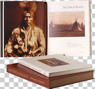 Edward S. Curtis: One Hundred Masterworks The North American Indian Book Slipcase Special Edition PNG