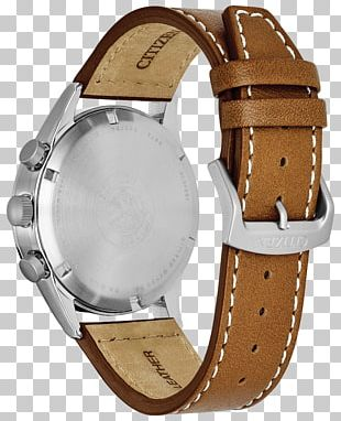 Eco-Drive Watch Strap Citizen Holdings Leather PNG