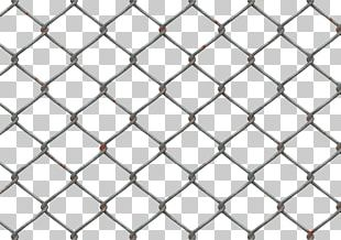 Mesh Wire Fence Chain-link Fencing PNG