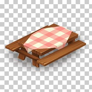 Picnic Table Wood Hay Day PNG